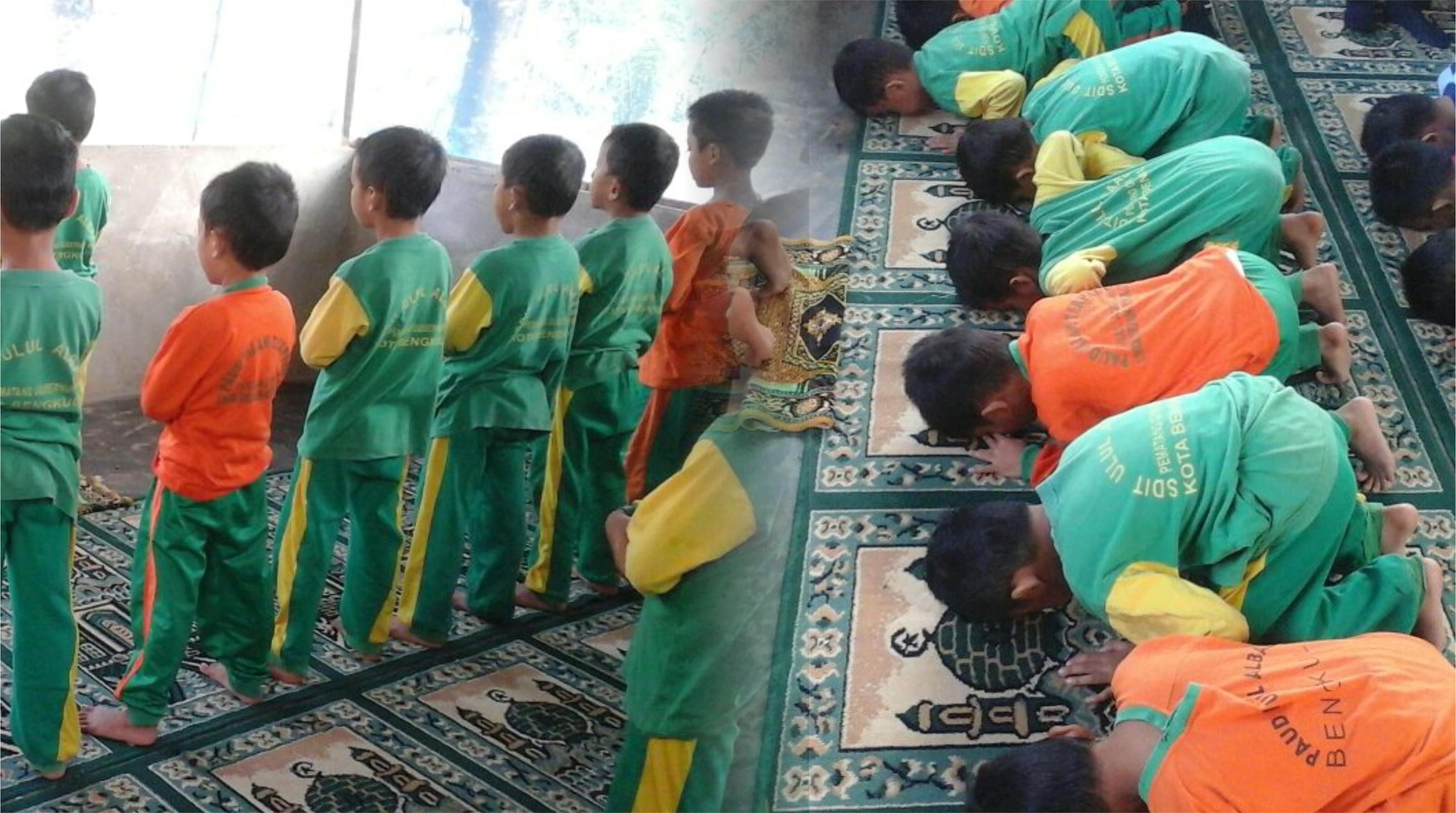 Sholat Dhuha : Kegiatan Rutin Setiap Pagi di Sekolah Ulul Albaab